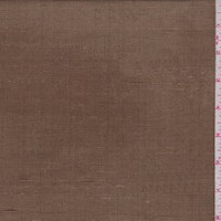 *2 YD PC--Antique Bronze Silk Shantung