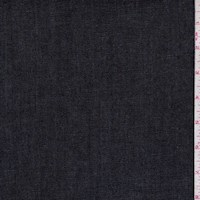 *9 1/2 YD PC--Weathered Navy Stretch Denim