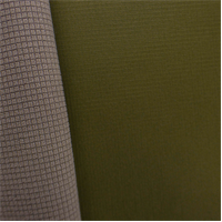 *2 YD PC--Gridded Soft Shell Fleece - Olive Green/Beige