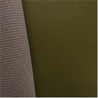 *2 YD PC--Gridded Soft Shell Fleece - Olive Green/Beige