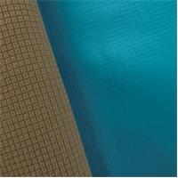 *3 YD PC--Gridded Soft Shell Fleece - Sky Blue/Beige