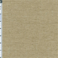 *1 YD PC--Linen Beige/Brown Chenille Home Decorating Fabric