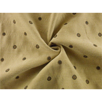 *11 YD PC--Cedar Beige Polka Dots Decorating Fabric