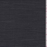 *3 YD PC--Dark Navy Check Wool Blend Suiting