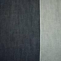 *3 1/2 YD PC--Dark Night Navy Cotton Japanese Selvedge Denim Twill
