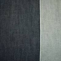 *1 3/4  YD PC--Dark Night Navy Cotton Japanese Selvedge Denim Twill