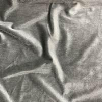 *5 1/4 YD PC--Dark Grey Velour Knit