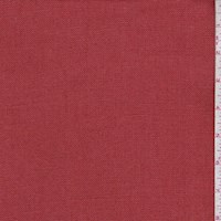 Burnt Orange Linen Canvas Decorating Fabric