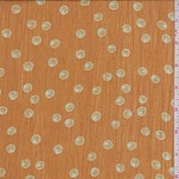 Harvest Gold Shell Crinkle Chiffon