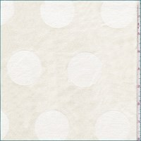 Buttercream Polka Dot Woven Decor Fabric