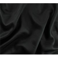 *3 YD PC--Raven Black Wool Blend Twill