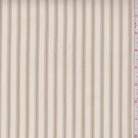 *7/8 YD PC--Parchment Stripe Shirting