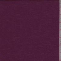 Dark Magenta Brushed Jersey Knit