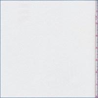 *1 1/2 YD PC--White Rayon Pebble Crepe