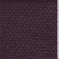 *1 YD PC--Burgundy Patent Embossed Coating