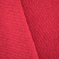 *4 YD PC--Classic Red Wool Blend Texture Dobby Jacketing