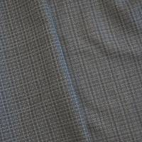*3 YD PC--Lead Gray/Fog Wool Blend Textured Dobby Suiting