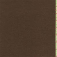 *1 5/8 YD PC--Gingerbread Brown Interlock Knit