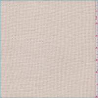 *4 3/4 YD PC--Pink Beige Thermal Knit