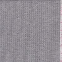 Stone Grey Waffle Knit