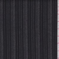 Black/Stone Stripe Stretch Flannel