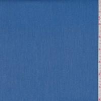 *1 YD PC--Medium Blue Twill Suiting