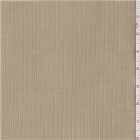 *2 1/2 YD PC--Tan/Orange Stripe Suiting