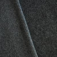 *1 YD PC--Thunder Gray Brushed Texture Twill Woven Jacketing