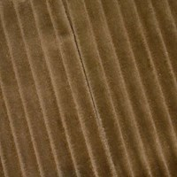 *6 YD PC -- Brown Wide Wale Pile Velvet Decorating Fabric