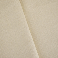 Light Pastry Beige Slub Linen Woven Home Decorating Fabric