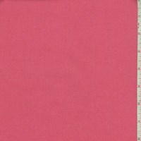 Coral Pink Woven Cotton