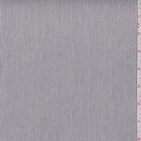 Sterling/White Pinstripe Cotton