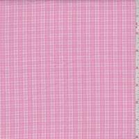 *2 YD PC--Bubblegum Pink Mini Plaid Cotton