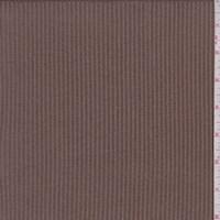 Cocoa Brown Rib Sweater Knit