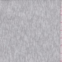 Silver Grey Slubbed Sweater Knit