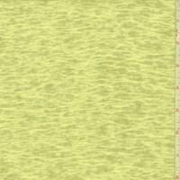 Bright Lemon Slubbed Sweater Knit