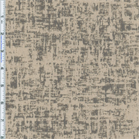 *1 YD PC--Beige Grey Petite Modern Textured Jacquard Home Decorating Fabric