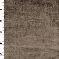 *5 YD PC--Shimmer Brown Textured Velvet Home Decorating Fabric