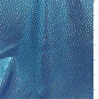 *4 YD PC--Metallic Blue Hologram Activewear
