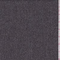*5 YD PC--Espresso Slubbed Wool Suiting