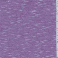 *2 3/4 YD PC--Plum/White Micro Stripe Jersey Knit