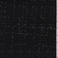 *2 1/4 YD PC--Black Boucle/Eyelash Jacketing