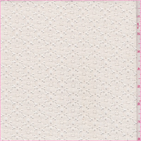 *9 1/2 YD PC--Ivory Floral Lace