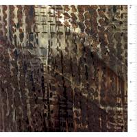 *2 1/2 YD PC--Rust Multi Foil Jersey Knit