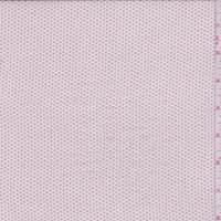 *4 5/8 YD PC--Creamy Pink Flocked Dot Chiffon