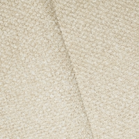 *5 YD PC-- White/Light Beige Indoor/Outdoor  Textured Boucle Home Decorating Fabric