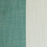 *3 YD PC -- Green/White Indoor/Outdoor Stripe Woven Decorating Fabric