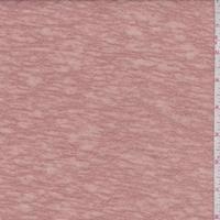 Terra Cotta Slubbed Sweater Knit