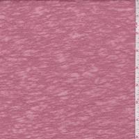 Dark Blush Pink Slubbed Sweater Knit