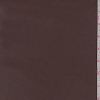 Chocolate Brown Cotton Twill